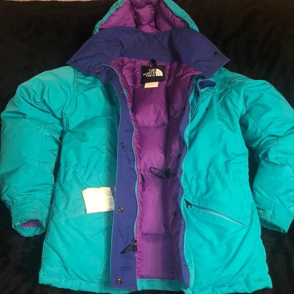 The North Face bubble winter coat...women s size S.  M 5befa031e944baf109e0b103 b9e6433af